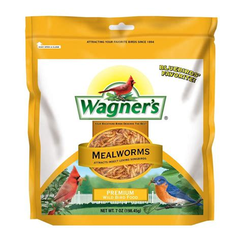 wagner s 7 oz mealworms 58001 the home depot