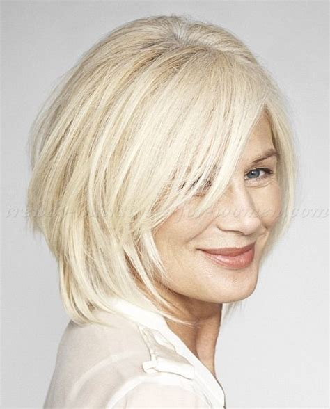 med hair woth gray n blonde medium hairstyles for women over 50 glossing your gray