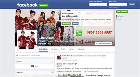 biaya membuat iklan di facebook studi kasus jualan batik menggunakan iklan facebook buat