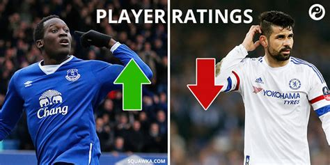 chelsea player ratings everton 2 0 chelsea player ratings lukaku comes back to