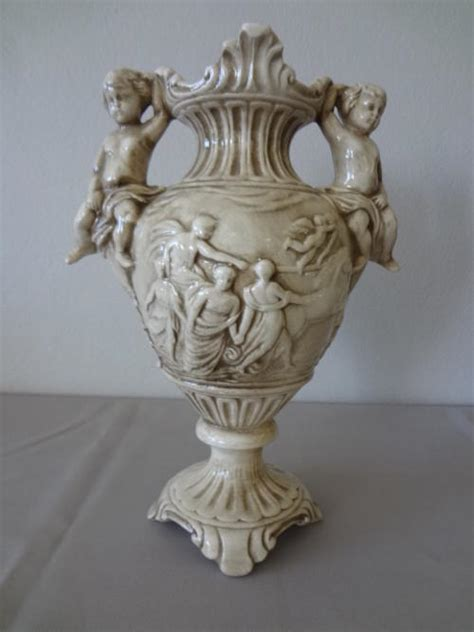 capodimonte vase vases capodimonte vase made in italy as per photo was
