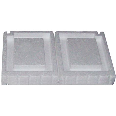 shop cmi 7 75 in x 13 25 in polystyrene foundation vent plug at lowes com