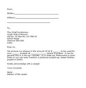 sample cover letter giving donation 3