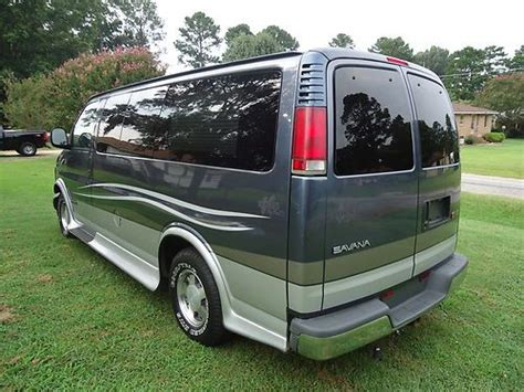 how to work on cars 1999 gmc savana 1500 parental controls purchase used 1999 gmc savana conversion van vision customs power rear seat low miles in