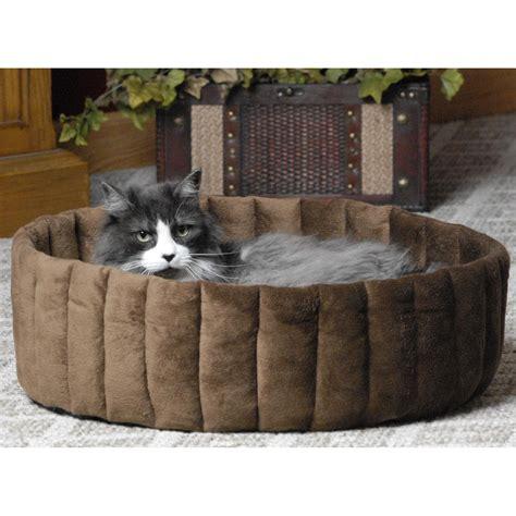Petco Cat Beds by K H Cup Mocha Cat Bed Petco