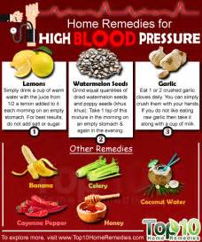 home remedies for high pressure top home remedies
