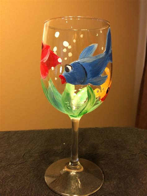 Wine Glass Painting Options Uncorked