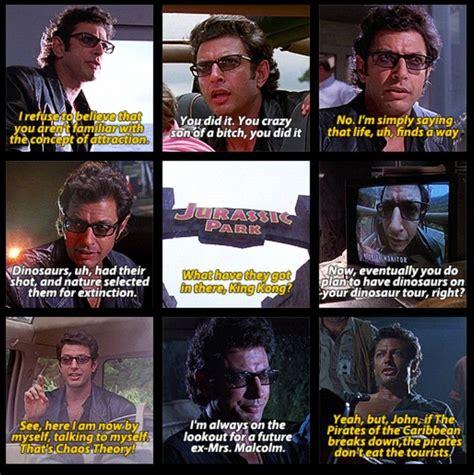 quotes film jurassic world dr malcolm jurassic park quotes quotesgram