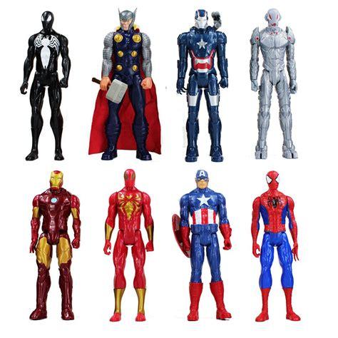 figure heroes superheros the iron captain american thor