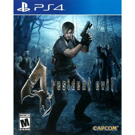 Ps4 Resident Evil 4 By Cgbgameshop resident evil 4 ps4 walmart