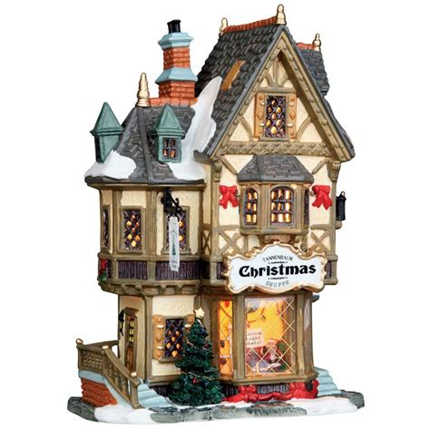 lemax christmas collection lemax tannenbaum shoppe 35845 163 26 99 from lemax collectables