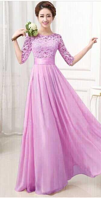 Dress Cantik Ungu dress ungu cantik 2016 myrosefashion