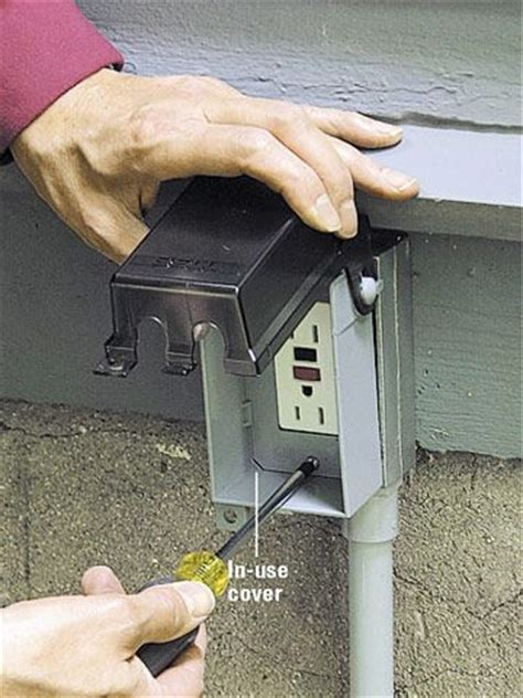 backyard outlet 25 best ideas about outdoor outlet on pinterest timers and lighting controls