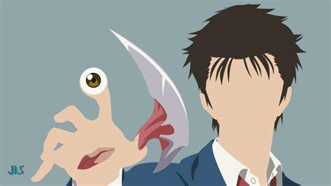 Wallpaper Anime Parasyte   migi and shinichi after parasyte the maxim by