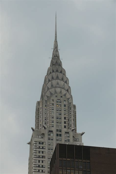 Chrysler Building by Chrysler Building Simple The Free