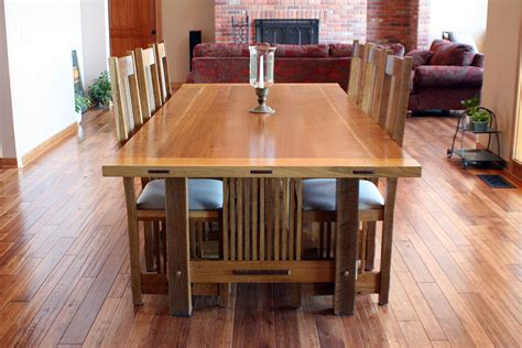 craftsman dining room table chair morris sign