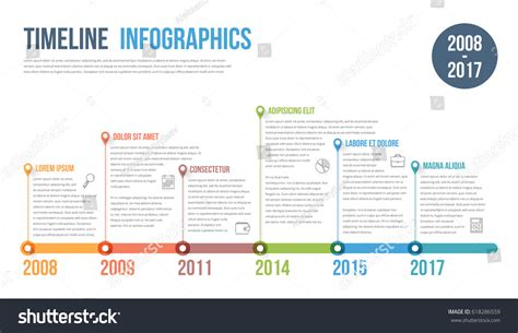 workflow timeline template timeline infographics template workflow process diagram