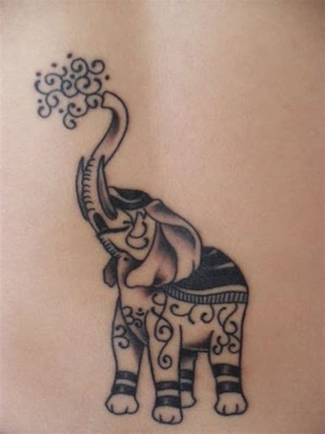 elephant tattoo with jewels 20 reasons why you will want to get an elephant tattoo