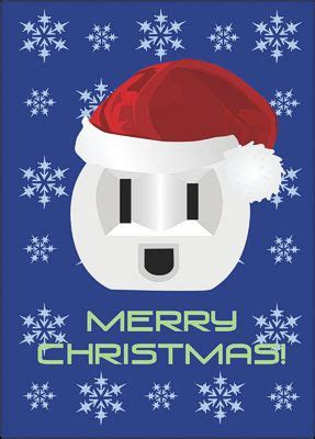 power fourth quarter sales  electrical contractor christmas cards company christmas cards