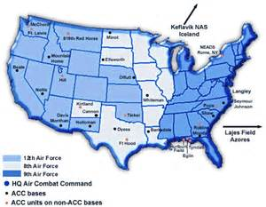 air bases united states map eighth air
