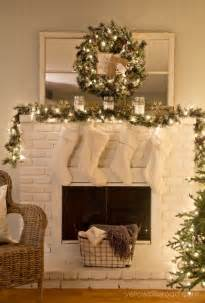 decorating a mantel interesting christmas mantle