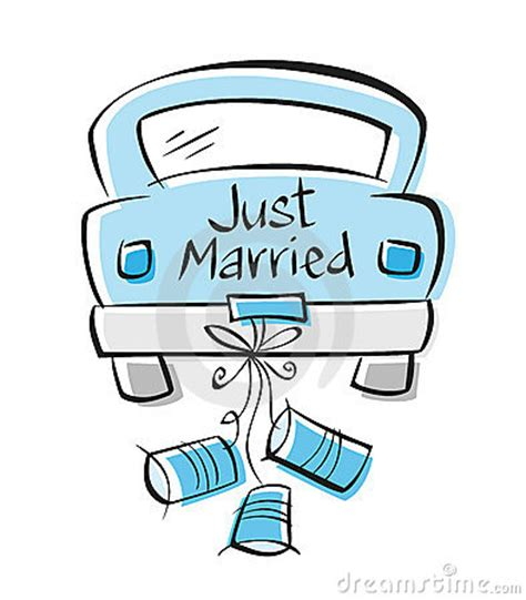 Just Married Auto Clipart Kostenlos by Just Married Car Clipart 46