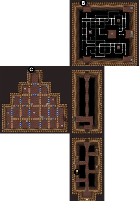 mikes rpg center zelda  link    maps turtle rock