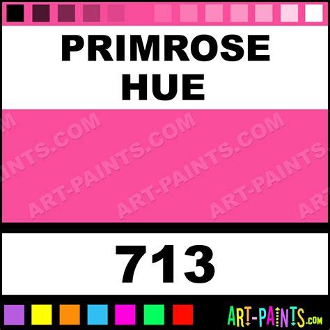 what color is primrose primrose translucent ceramic paints 713