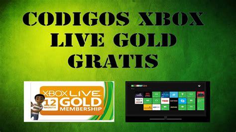 cdigo xbox live gold gratis 2016 xbox live gratis 2016 xbox live gold gratis 2016 codigos