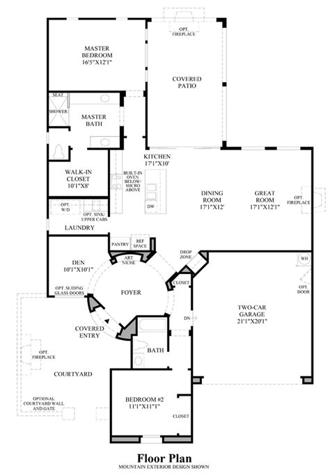 nv homes floor plans regency at damonte ranch tamarack collection the