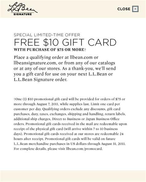 Check Ll Bean Gift Card Balance - l l bean signature men s women s classic american sportswear free shipping
