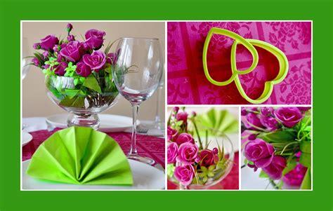 servietten deko deko idee f 252 r eine hochzeitsfeier rosa und