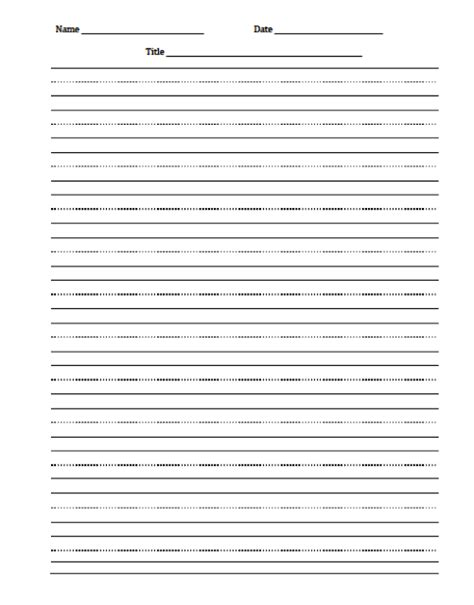 blank cursive writing paper template essay college