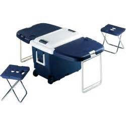 ezetil picnic cool box 30 litres with folding table and 2