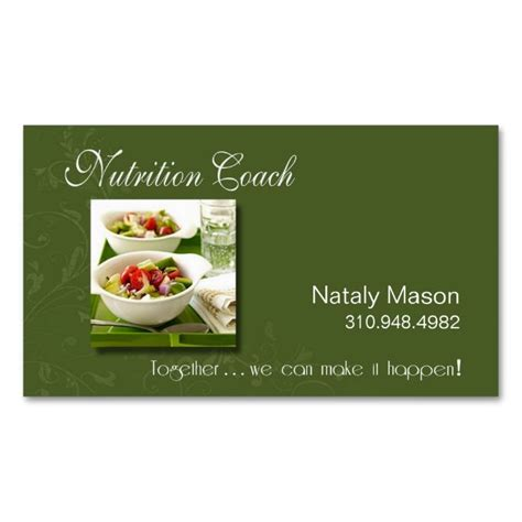 nutritionist business card templates 62 best girly nutrition and wellness business cards images
