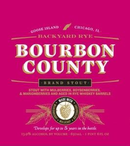 bourbon county backyard rye goose island bourbon county barrel aged beers coming to sarasota manatee