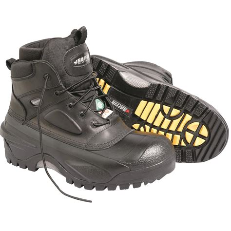 safety toe shoes baffin compressor 6 quot h safety toe pac boots gempler s