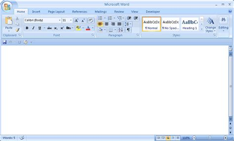 Word Office 2007 Microsoft Word At Searchando