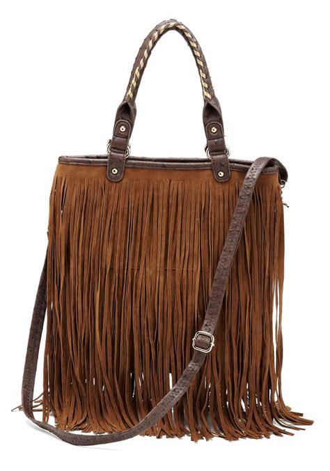Fringe Leather leather fringe purse clothing