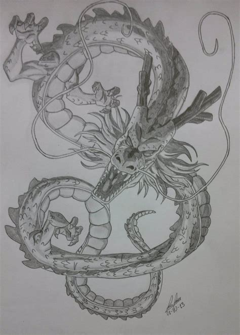 shenlong by luisp89 on deviantart