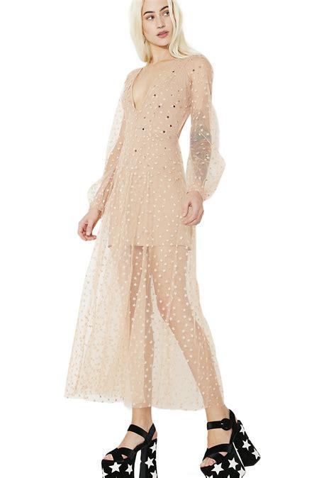 Maxi Dress Tha 4643 for lemons all that glitters maxi dress dolls kill