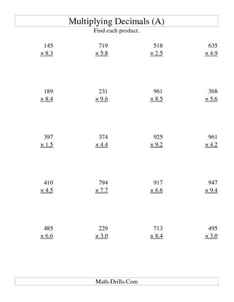 Multiplying Decimals Worksheets Pdf by Best 25 Decimals Worksheets Ideas On