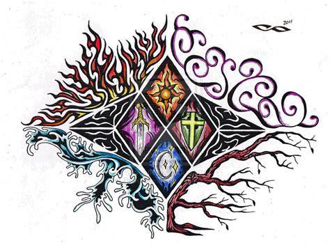 design elements tattoo elemental tattoo by revelationink on deviantart