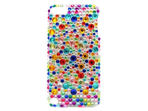 Rainbow Bling Iphone 6 ipod touch 5 bling ipod touch 5 rainbow ipod