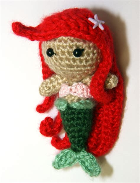 amigurumi ariel pattern mermaid doll amigurumi pattern amigurumipatterns net