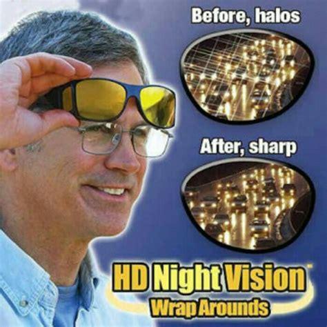 Harga Grosir Hd Vision Sunglass Kacamata Hd Vision kacamata hd vision sunglass 1box isi 2 hitam dan kuning elevenia