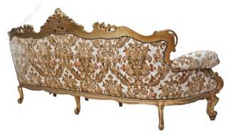 Chaise Settee Large Giltwood Sofa Settee Chaise Longue Antiques