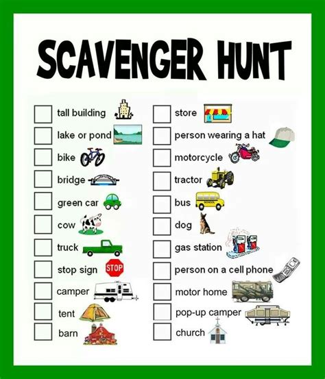 Backyard Scavenger Hunt For by 1000 Images About Trailer On Cing