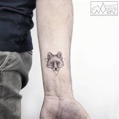 small fox tattoo 46 adorable fox designs and ideas tattoobloq