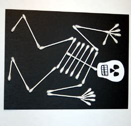 skeleton activities chasing supermom